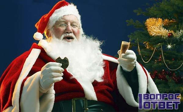 Дед Мороз дарит всем счастье и тепло