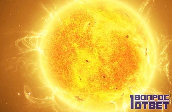 Как выглядит солнце в космосе