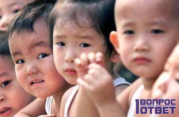 Китайские дети не толстые