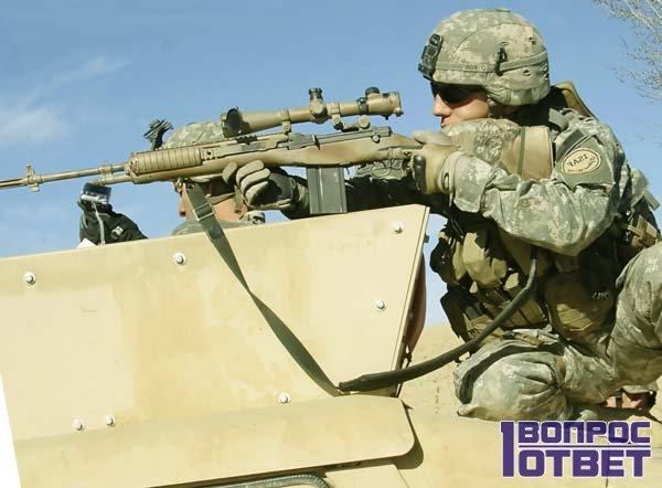 Солдат из США