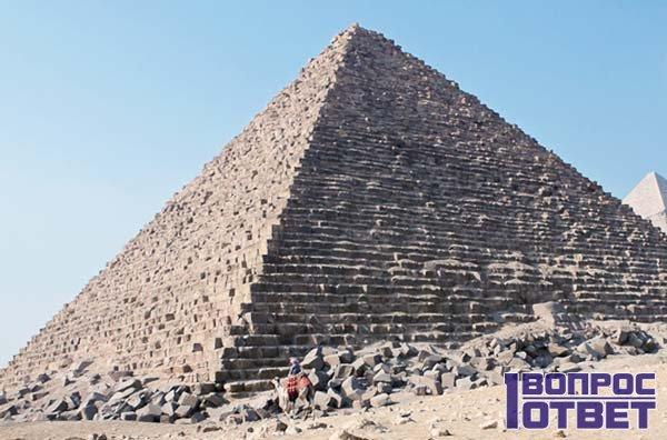Как располагаются пирамиды