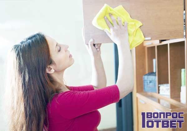 Пылесборник на мебели