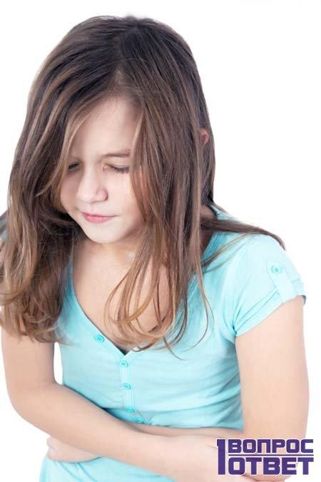 У девочки нарушена микрофлора