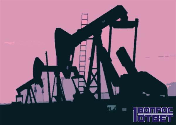 Нефтяные вышки и падающий рубль