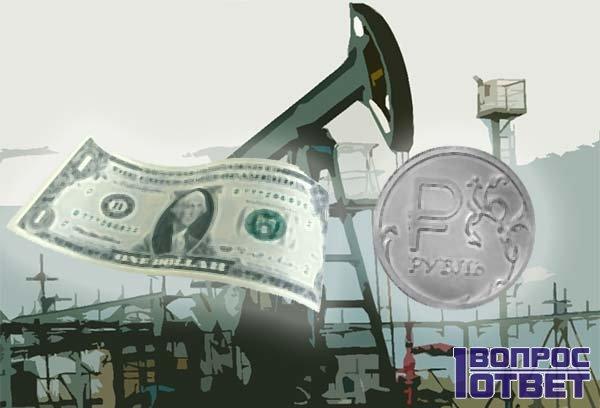 Падающий рубль и растущий доллар