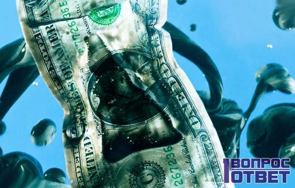 Доллар в нефти