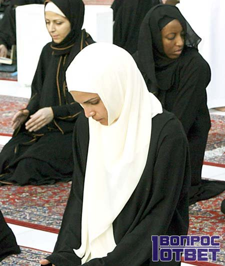 Молодая девушка-мусульманка
