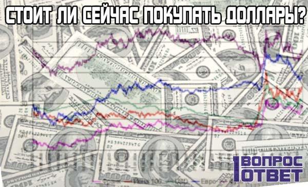 Нужно ли сейчас покупать доллары?