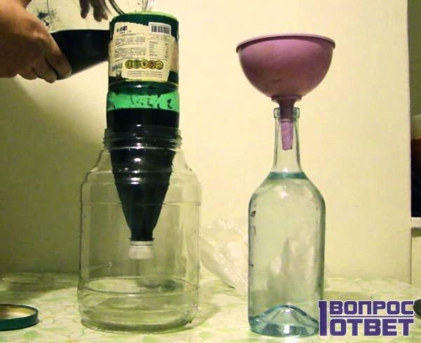Очищение напитка перманганатом калия