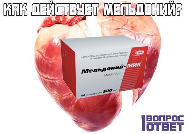 Мельдоний: как действует препарат на человека
