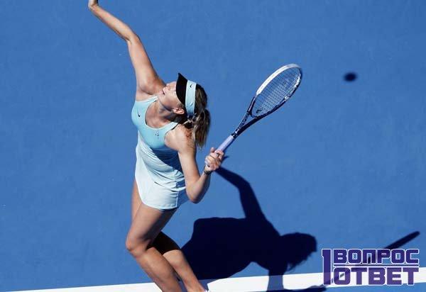 Теннисистка и спорт