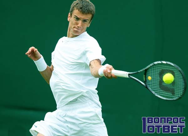 Теннисист под действием милдроната