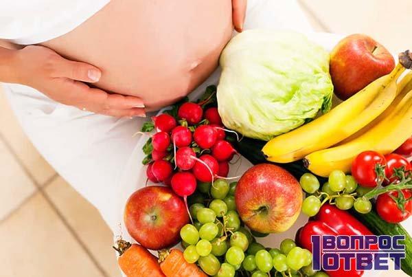 Питание женщины, ждущей ребенка