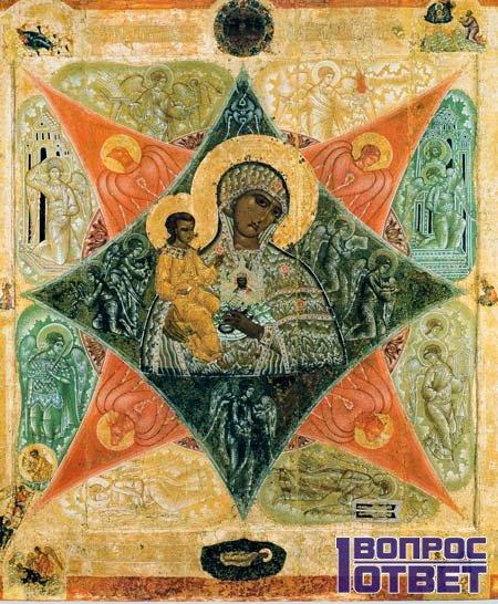 Икона Неопалимая Купина - оригинальный образ