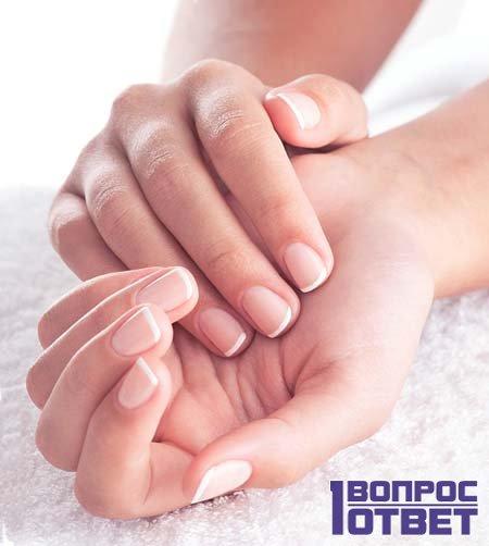 Здоровые пальцы и ногти