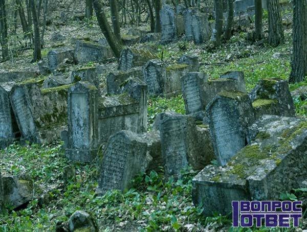 Подробные детали заброшенного кладбища
