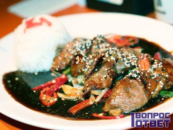 Полезные продукты с рисом