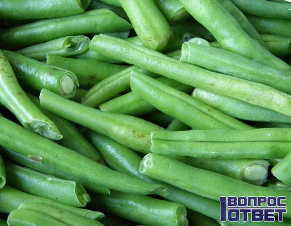 Зеленая стручковая фасоль
