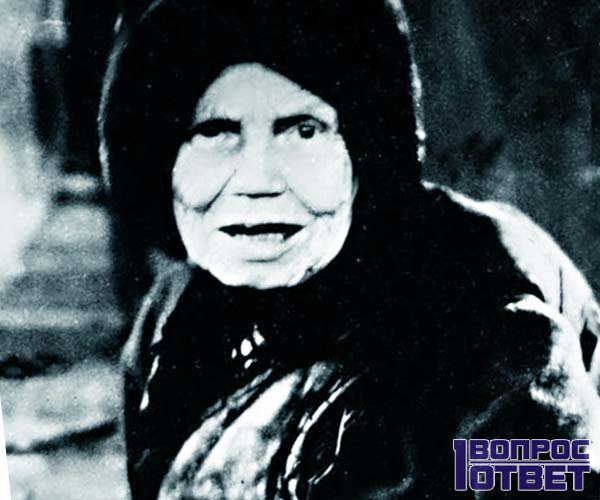 Матушка Алипия в прошлом веке