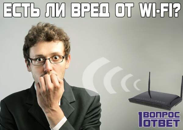 Вреден ли WiFi для человека?