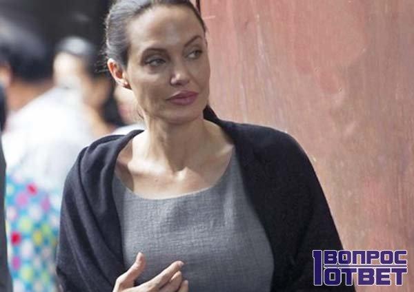 Анорексичка Джоли
