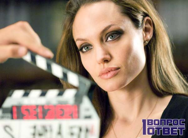 Знаменитая Голливудская актриса Джоли в кино
