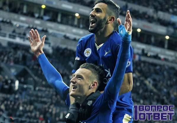 Успех и радость футболистов