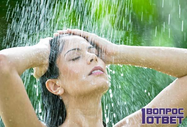 Контрастный душ ей противопоказан