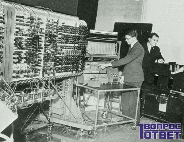 Прообраз интернета в 60х годах