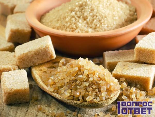 Польза коричневго тростникового сахара