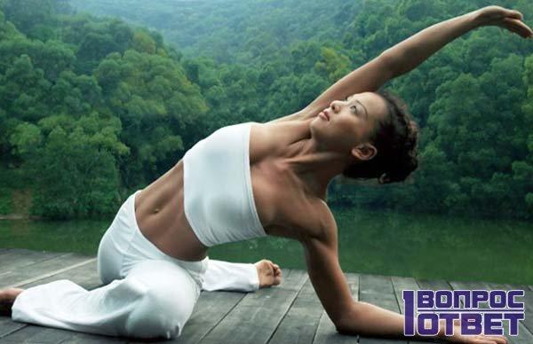 хатха-йога на природе