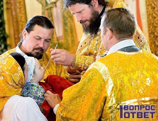 Ритуал причащения в Минске