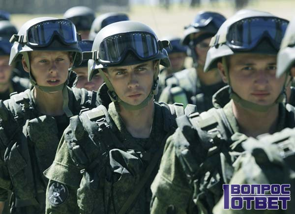 Бойцы Национальной Гвардии