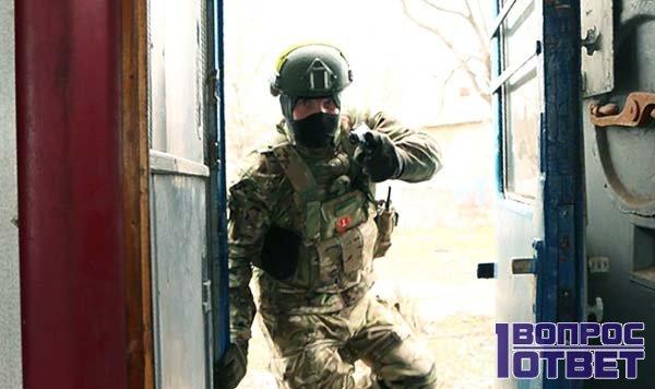 Боевые учения солдата