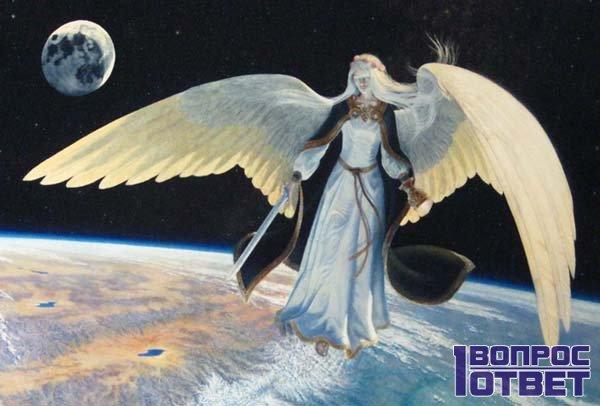 Ангел в космосе