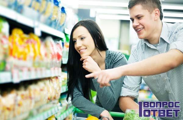 Потребительские цены в магазине