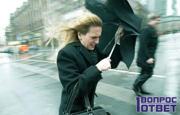 Снится очень сильный ветер