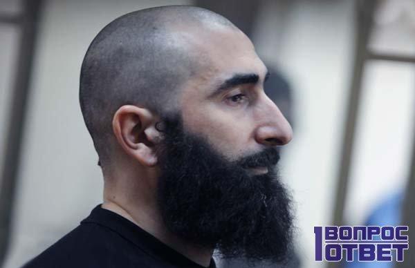 Ваххабит с бородой за решеткой