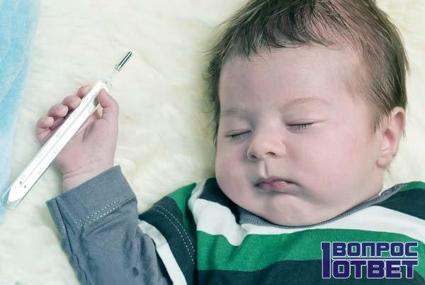 Причина поноса у младенца
