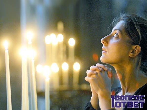 Молится Ксении Петербуржской