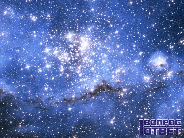 Межзвездное пространство в космосе