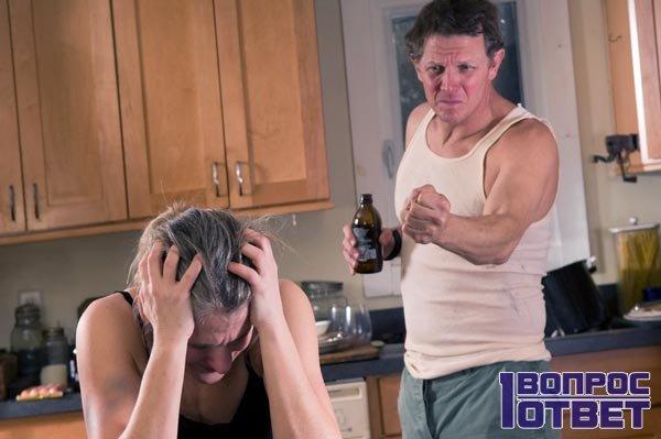 Постоянно пьющий и ругающийся муж