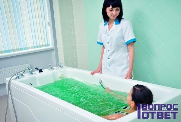 Солевые ванны в клинке