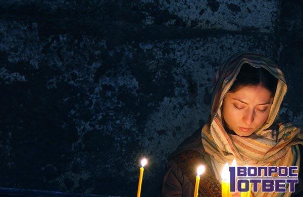 Молится святой Параскеве Пятнице