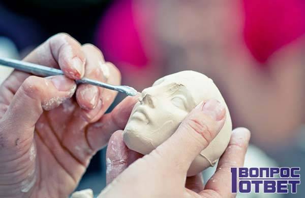 Продажа мастер-класса скульптурной лепки