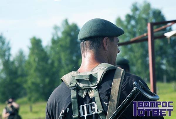 Советский военный-спецназовец
