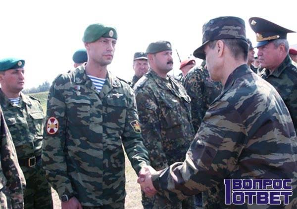 Спецназ ВВ МВД в оливковом берете