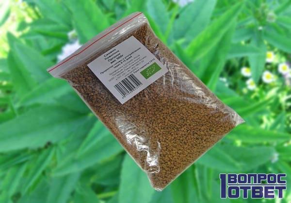 Лечебные семена шамбалы