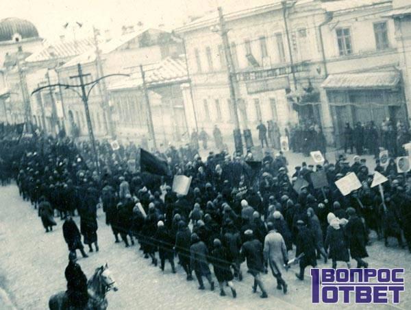 Парад 7 ноября 1933 года в Москве