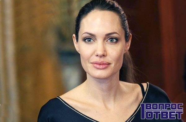 Анджелина Джоли - голливудская бисексуалка